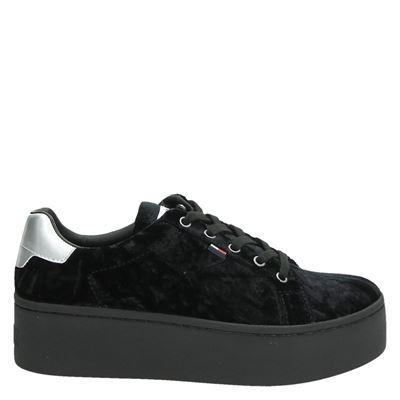 Tommy Jeans dames sneakers zwart