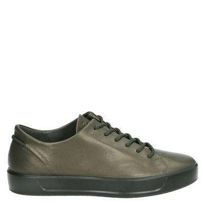 Ecco dames lage sneakers kaki