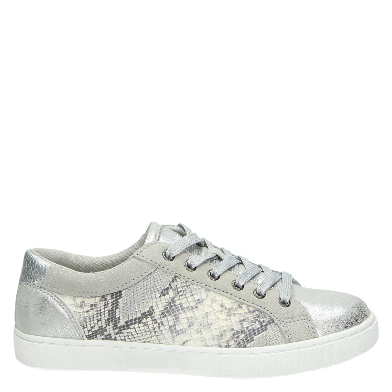 Sneakers Hobb's Hobb's Dames Lage Dames Lage Zilver Sneakers nCWP6Yww4