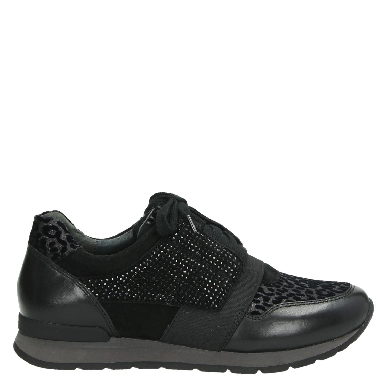 f30c050a3f1 Gabor dames lage sneakers zwart