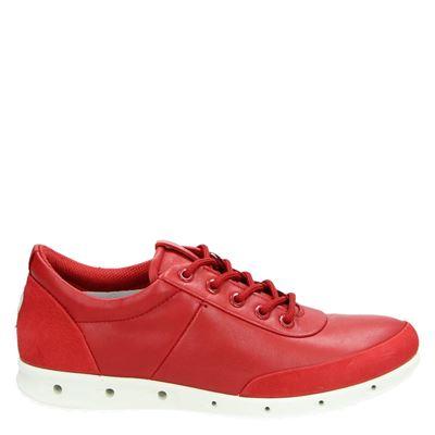 Ecco dames sneakers rood