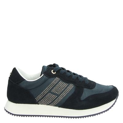 Tommy Hilfiger Sport dames sneakers blauw