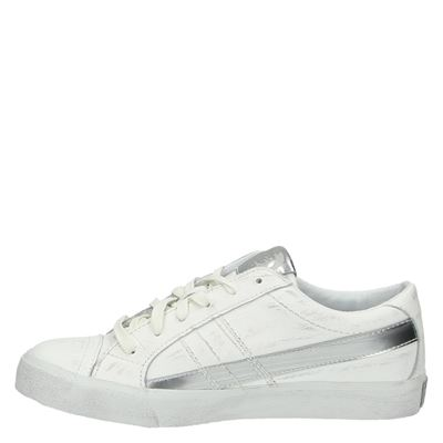 Diesel dames lage sneakers Wit