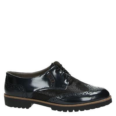Nelson dames veterschoenen Zwart