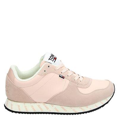 Tommy Jeans dames sneakers roze