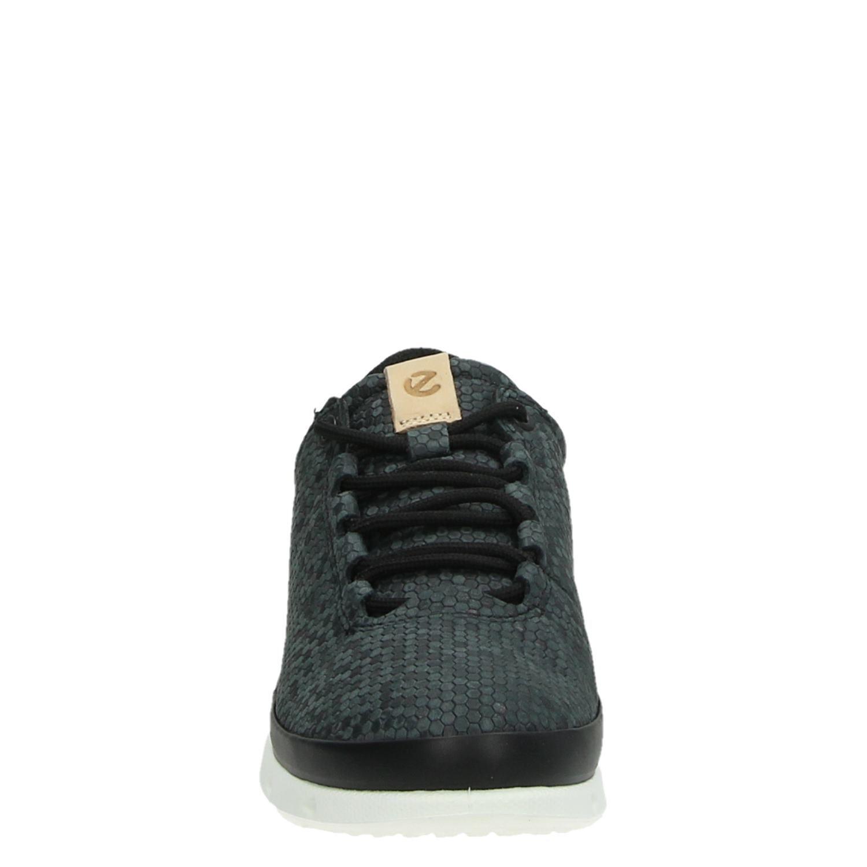 5b3aea9664b Ecco Cool dames lage sneakers zwart
