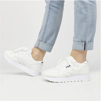 Fila dames sneakers wit