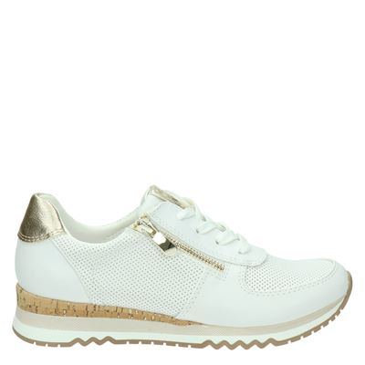 Marco Tozzi dames sneakers wit
