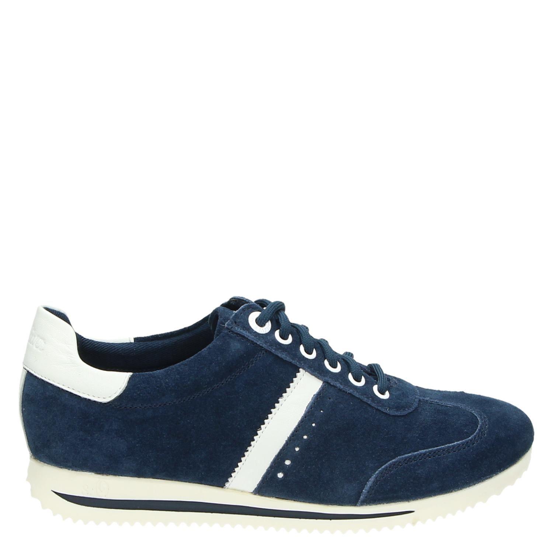 S.oliver Chaussures Bleu Avec Femmes Lacer saxBA