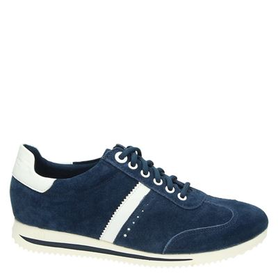 S.Oliver dames lage sneakers Blauw