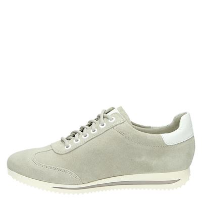 S.Oliver dames lage sneakers Taupe