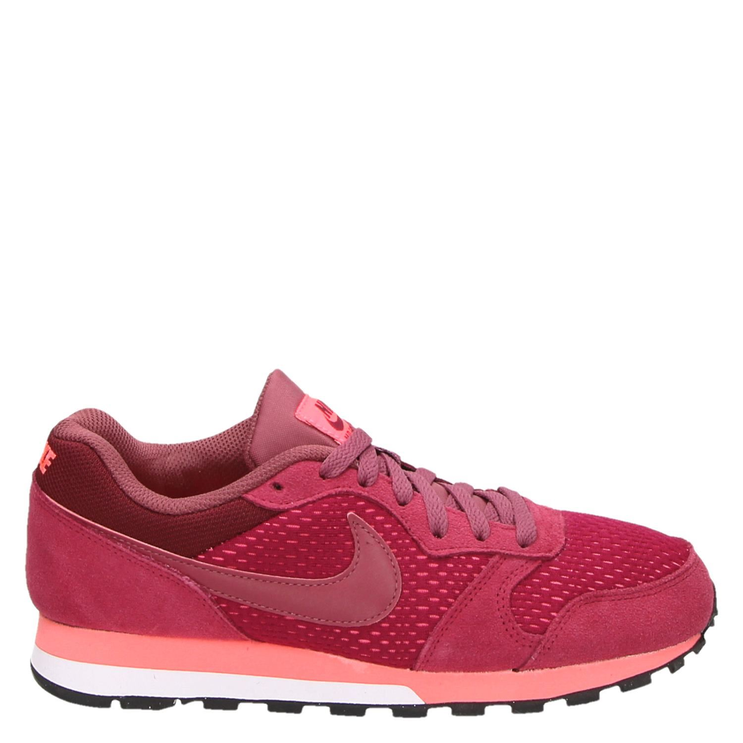 Nike Md Runner 2 Chaussures De Sport Lage Rood ydnIF