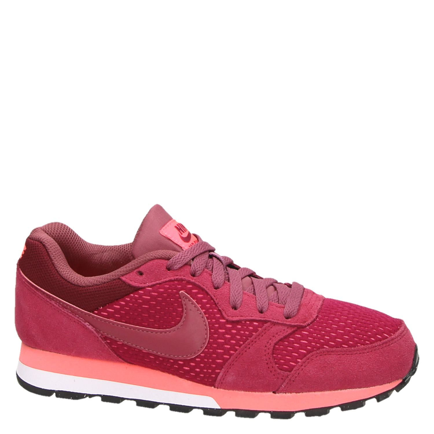 8471dd7f4fc Nike MD Runner 2 dames lage sneakers rood