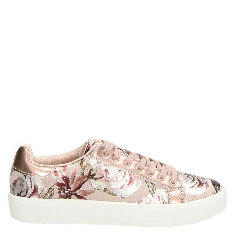 Tamaris - Lage sneakers - Roze