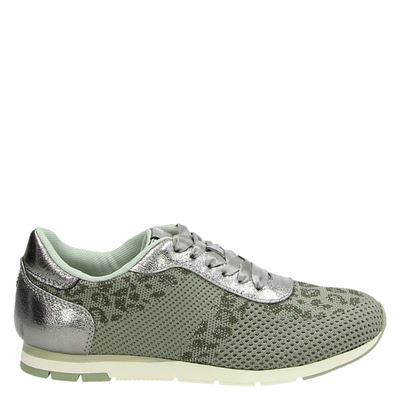 Tamaris dames sneakers groen