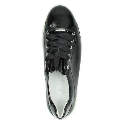 Ara dames lage sneakers Zwart