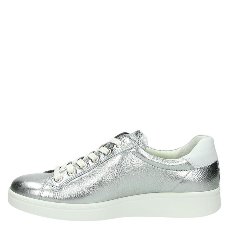Ecco Soft 4 - Lage sneakers - Zilver