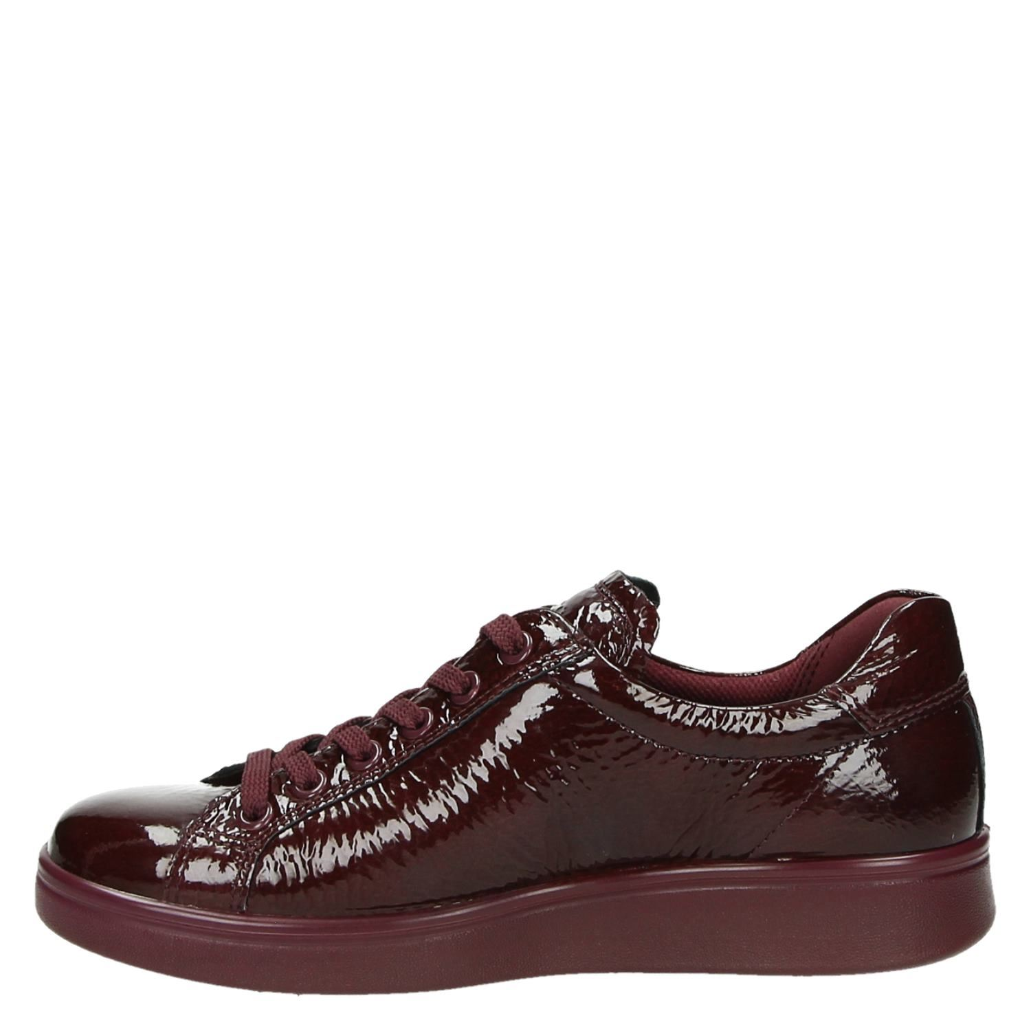 Ecco Doux 4 Baskets Basses Rouges eOcQCWUoX