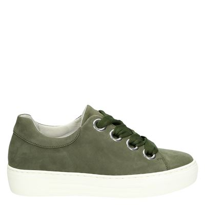 Gabor dames sneakers groen