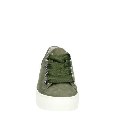 Gabor dames lage sneakers Groen