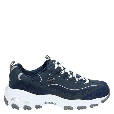 Skechers dames sneakers blauw