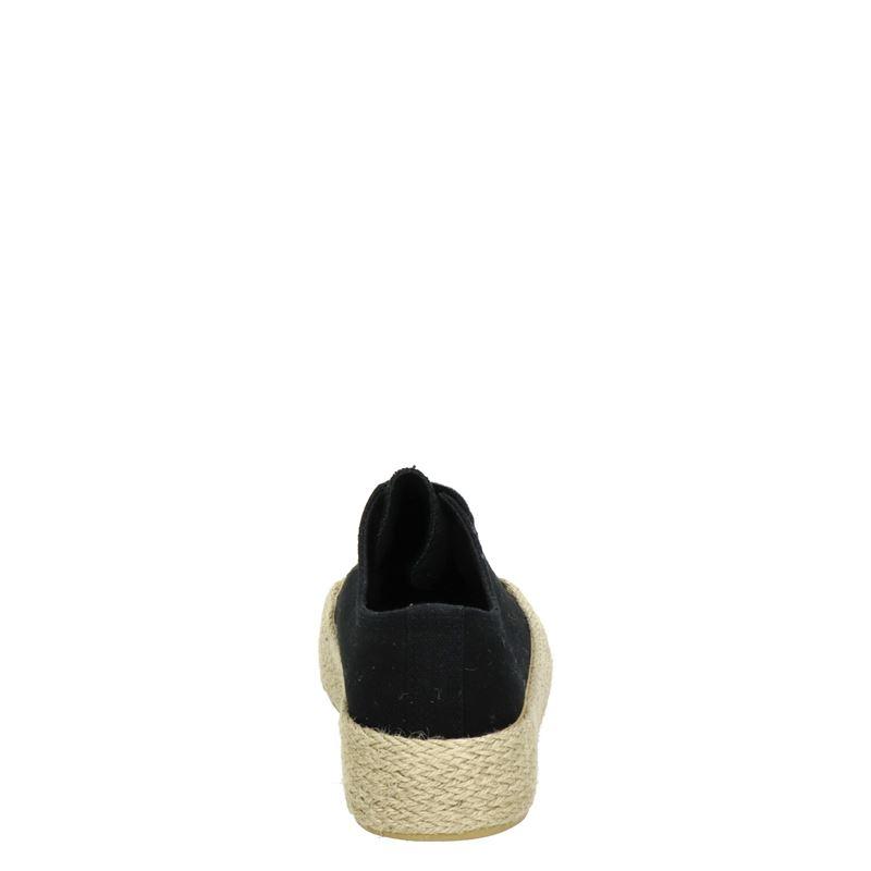 Nelson - Platform sneakers - Zwart