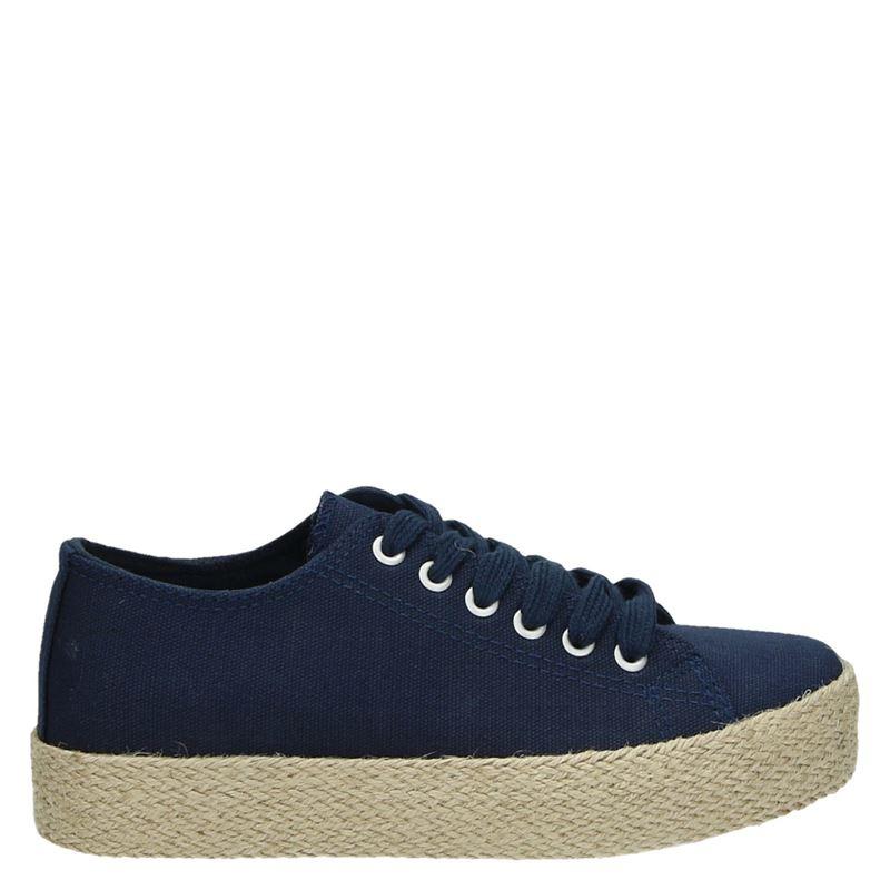 Nelson - Platform sneakers - Blauw