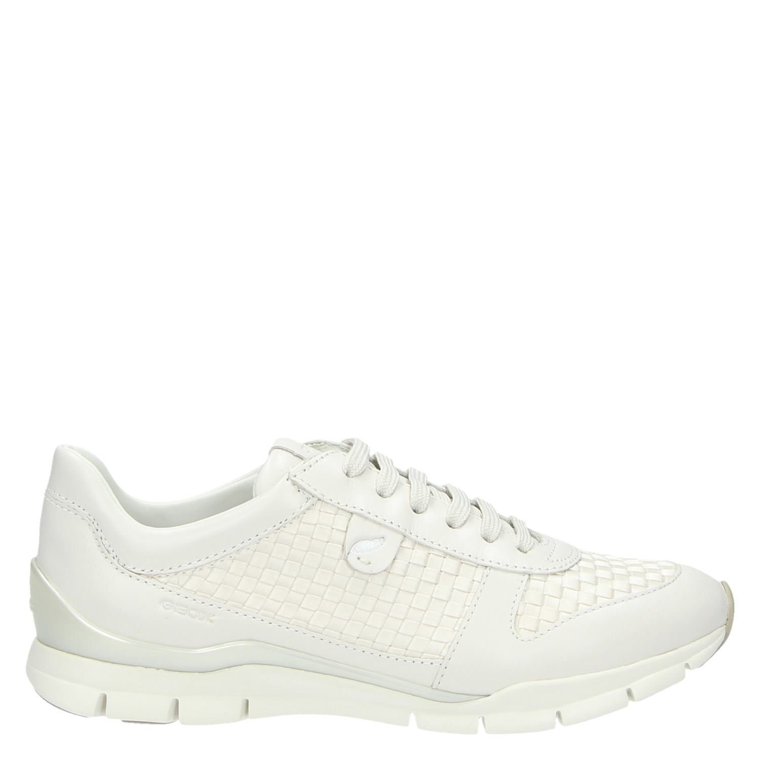a3651c349d8aec Geox dames lage sneakers wit