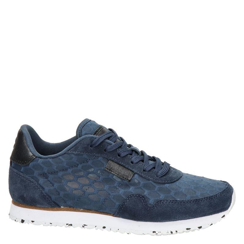 Woden Nora II Mesh - Lage sneakers - Blauw