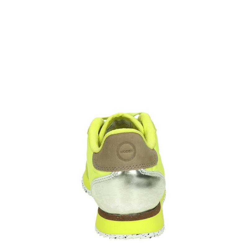 Woden Nora II - Lage sneakers - Geel