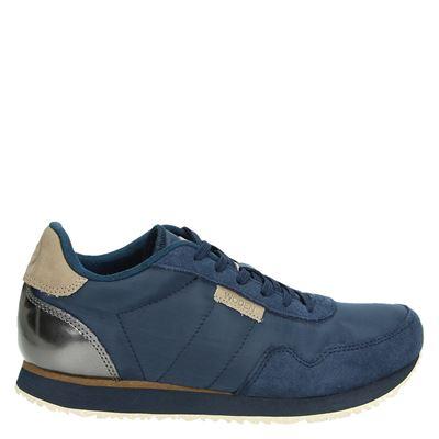 Woden dames sneakers blauw