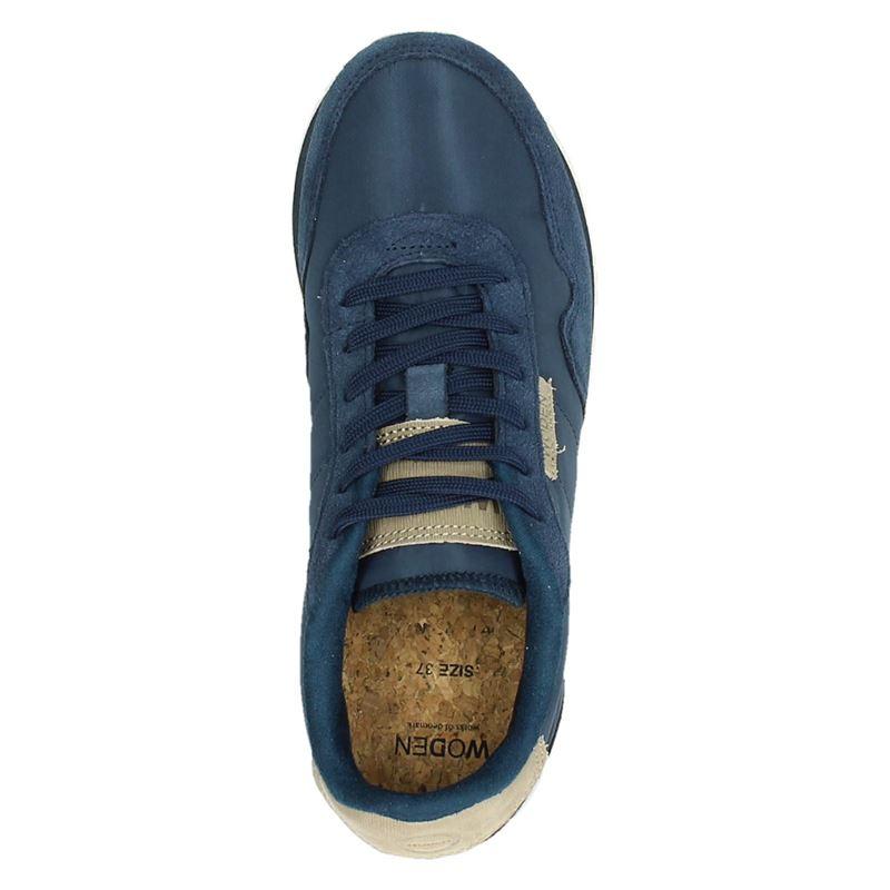 Woden Nora II - Lage sneakers - Blauw