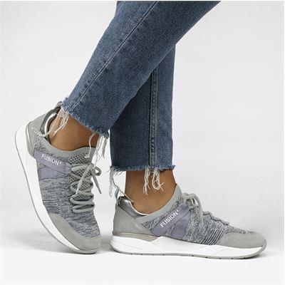 Ara dames sneakers grijs