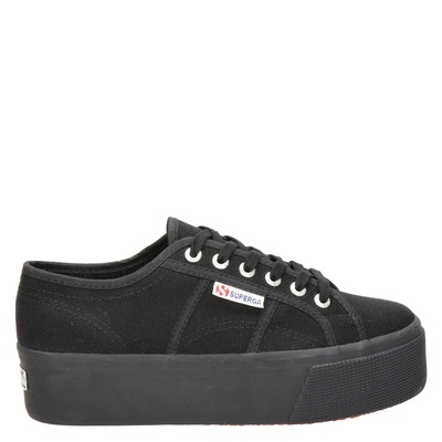 Superga dames sneakers zwart