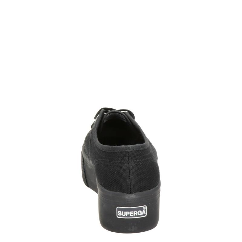 Superga 2790 - Platform sneakers - Zwart