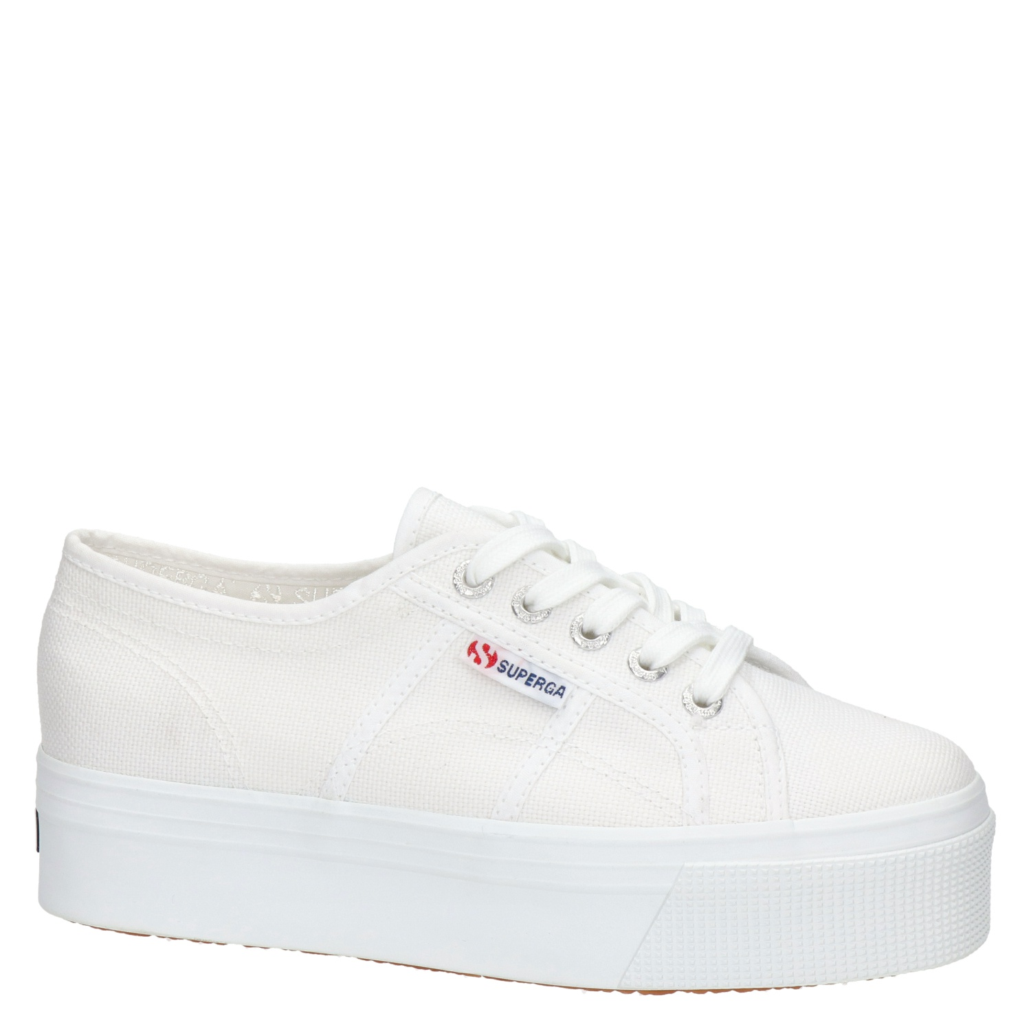Superga damessneaker wit