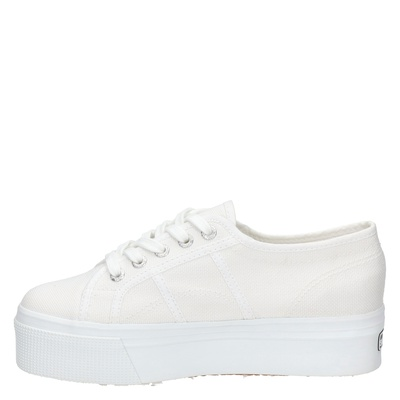 Superga dames platform sneakers Wit
