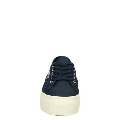 Superga dames platform sneakers Blauw