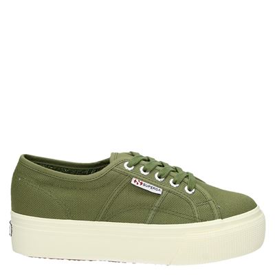 Superga dames sneakers groen