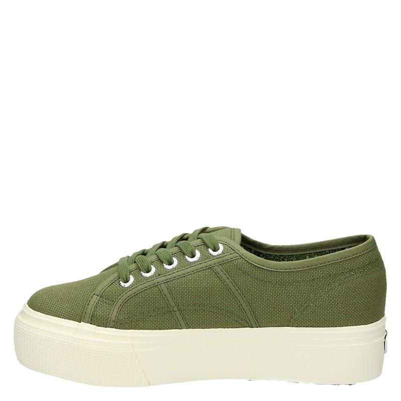 Superga 2790 - Platform sneakers - Groen