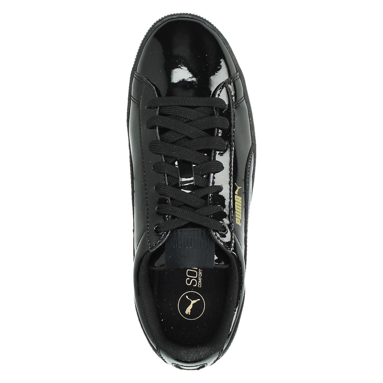 puma zwarte lak sneakers