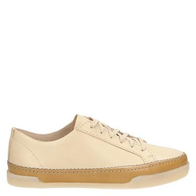 Clarks dames lage sneakers geel