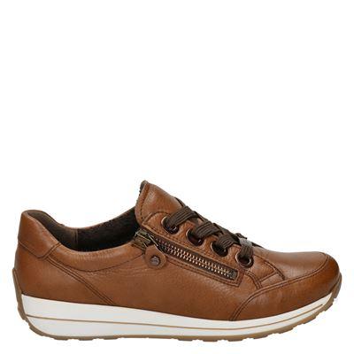 Ara - Lage sneakers - Cognac