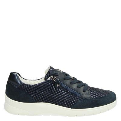Ara dames sneakers blauw