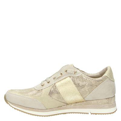 Marco Tozzi dames lage sneakers Beige