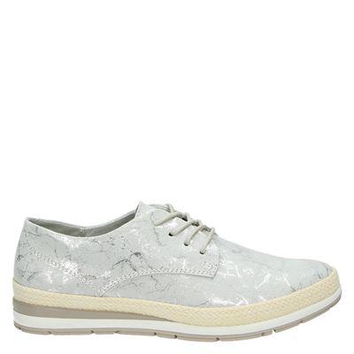 Marco Tozzi dames sneakers grijs
