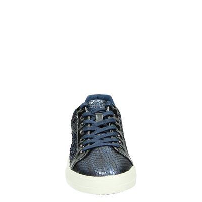 Tamaris dames lage sneakers Blauw