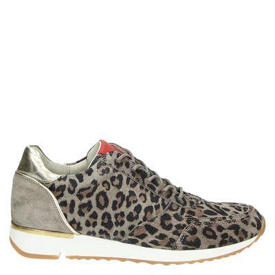 Aqa dames sneakers bruin