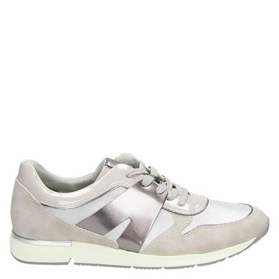Tamaris dames sneakers beige