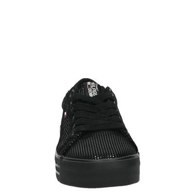 Tommy Jeans dames veterschoenen Zwart